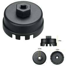 For Toyota Lexus Hot 14flutes Oil Filter Cap Wrench Socket Cup Remover Tool