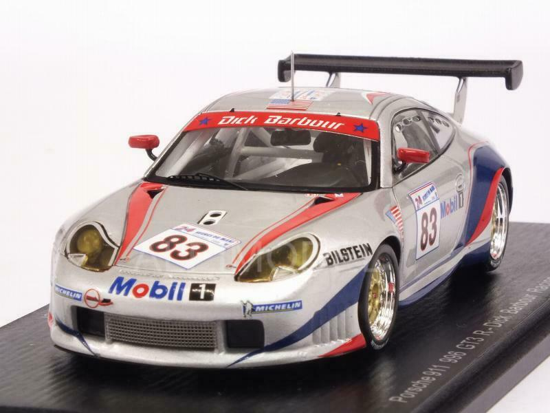 Porsche 911 GT3-R 996 Le Mans 2000 Luhr - Wollek - Muller 1 43 SPARK S5525