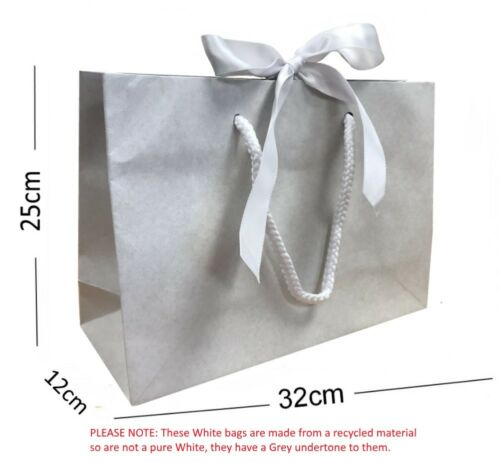 Christmas Wedding Baby Shower Birthday Party Ribbon Tie Bow Gift Bags