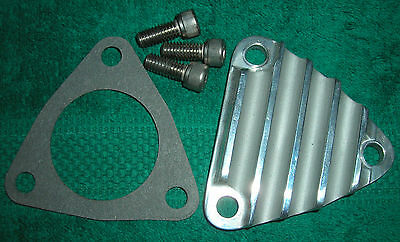 671 6-71 BLOWER SUPERCHARGER CUSTOM BILLET TRI-PLATE COVER COMPLETE