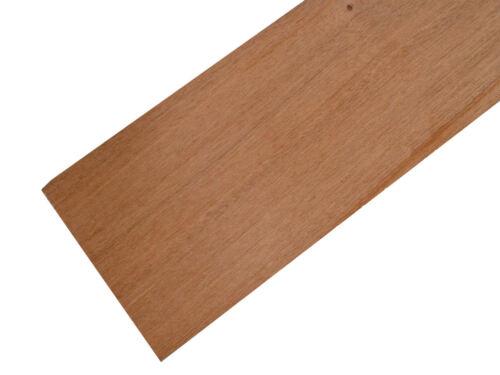 Madera De Caoba paneles 100mm X 457 mm x 3 mm-Pack De 5 Hojas mah2x5