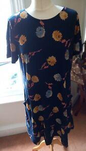 BNWT Fat Face Simone Twilight Blooms' Dress Size 16 BNWT