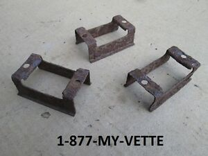 68-69 Corvette Seat Belt Shoulder Strap Retainer NEW on top of seat Left Hand