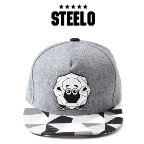 Unisex Mens Sheep Lamb Paper Folding Origami Baseball Cap Snapback Hats Gray