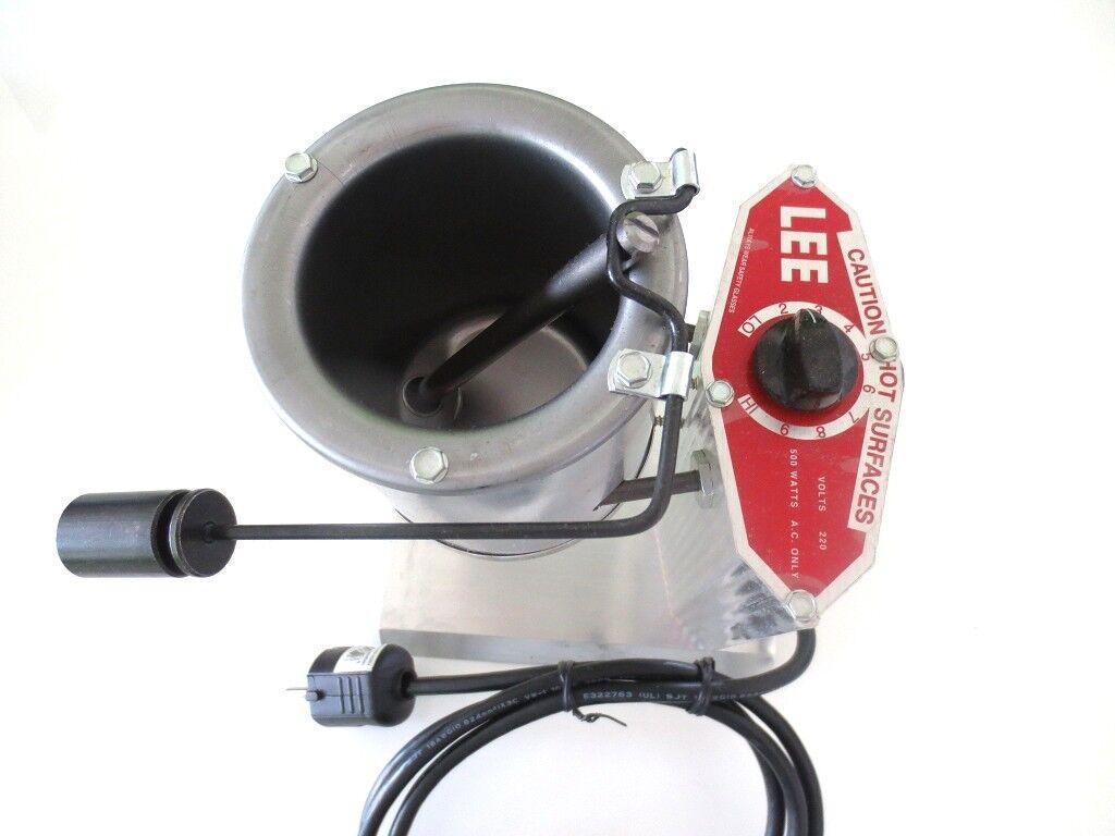 Lee elettrica congelarsi forno forno Profi 5kg colata di piombo stagno RONDINE teste 500 °