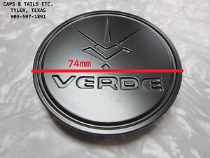 Verde Axis V99 center cap CAP176-1-U4B Satin black new V99 cap Axis center cap