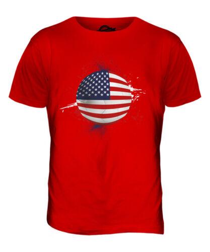 USA FOOTBALL MENS T-SHIRT TEE TOP GIFTWORLD CUP SPORT