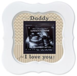 New Daddy Gift Dad Ultrasound Sonogram Frame Ebay