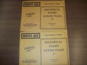 Details about 2 Packages White Ace Blank Stamp Album Pages for Bahamas,  NEW!!!
