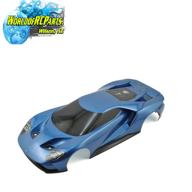 TRA8311A Traxxas Complete Ford GT Pre-Painted Body blu