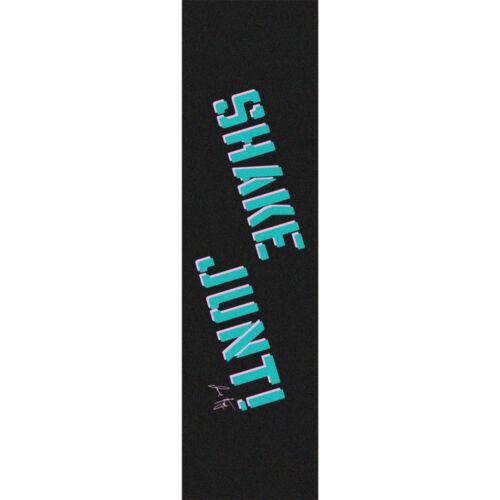 "Shake Junt Jamie Foy Single Sheet Griptape 9/""x33/"" Black//Teal//Pink"