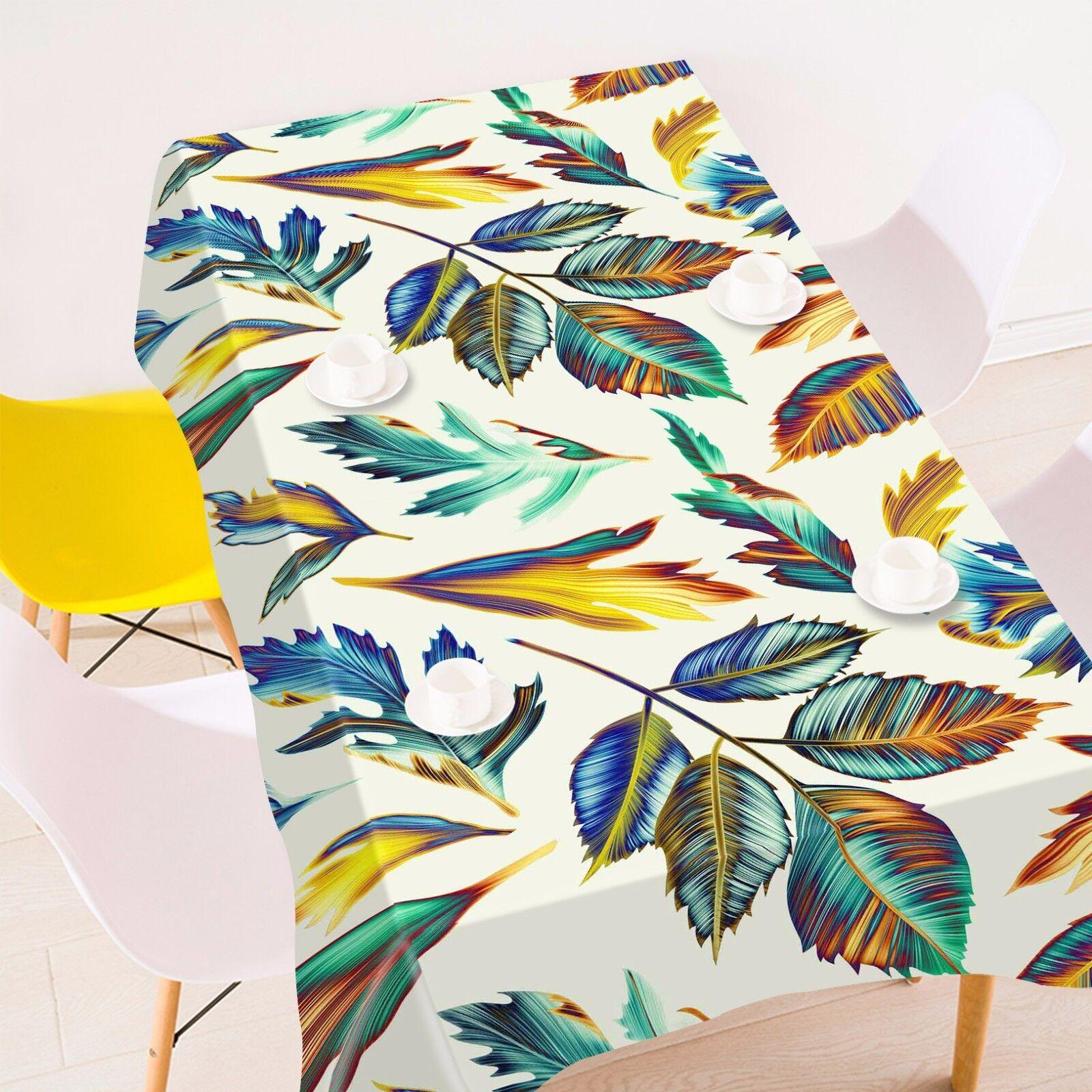 3D feuilles 926 Nappe Table Cover Cloth Fête D'Anniversaire événement AJ papier peint UK