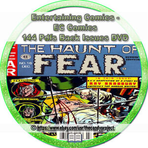 144-pdfs-Ec-Entertaining-Comic-Magazine-Tales-From-The-Crypt-Haunt-Of-Fear-DVD