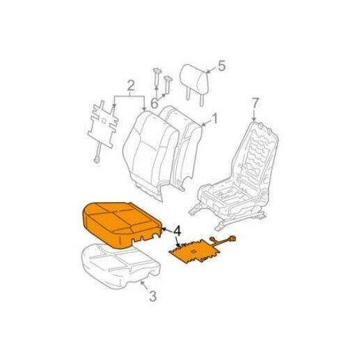 Genuine Hyundai 88170-2E010-J9M Seat Cushion Covering Front
