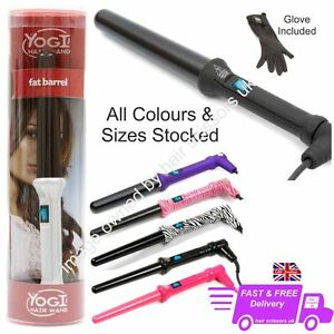 yogi hair styling wand hair curling wand tong yogi standard barrel heat glove 4732 | s l300
