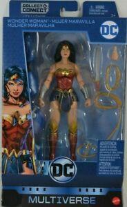 DC COMICS MULTIVERSE REBIRTH WONDER WOMAN ACTION FIGURE NO LEX LUTHOR BAF