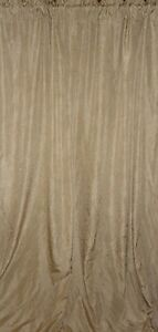 CROSCILL PARFAIT CHAMPAGNE GOLD ESSENCE CRINKLED (1) PANEL 48 X 80
