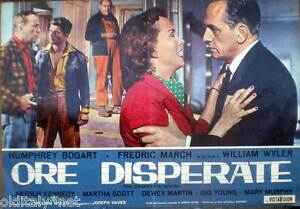 fotobusta-poster-cinema-ORE-DISPERATE-Humphrey-Bogart-Fredric-March-W-Wyler