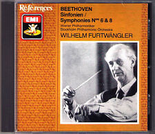Wilhelm FURTWÄNGLER: BEETHOVEN Symphony No.6 & 8 FURTWANGLER EMI CD Pastorale