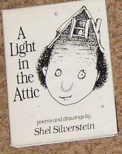 Humor Book A Light In The Attic By Shel Silverstein 60256737 Ebay