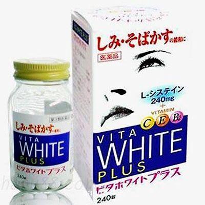 KOKANDO☀Vita White Plus C E B2 Whitening 240 Tablets 40 Days Japan-FREE SHIPPING