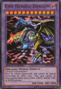 YUGIOH • Drago a cinque Teste 5 Five headed Dragon LIMITED EDITION • ULTRA RARA