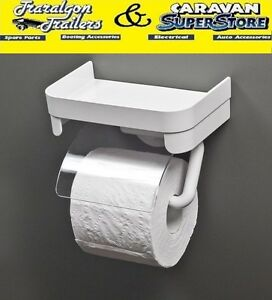 suction cup stick on toilet roll holder Portable RV home caravan ...