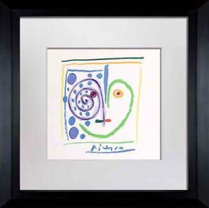 """Pablo PICASSO Lithograph  """"...mi Corazón"""" Limited Edition SIGNED Cat. ref. c116"""