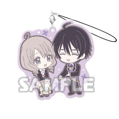 Card Captor Sakura Yue and Yukito Duo Rubber Phone Strap NEW