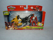 Power Rangers DINO CHARGE DINO CYCLE WITH RED RANGER BOXED