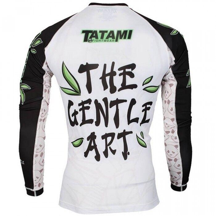 Tatami Kampf kleidung Sanftes Pandabär Rashguard Erwachsene BJJ BJJ BJJ Training T-shirt 21eb3e