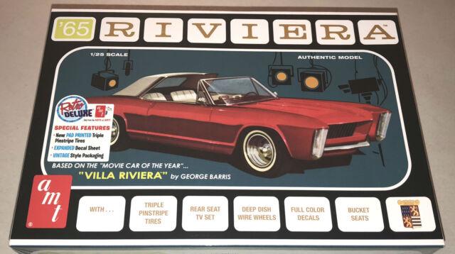 AMT 1965 Buick Riviera George Barris custom 1:25 scale model car kit new 1121
