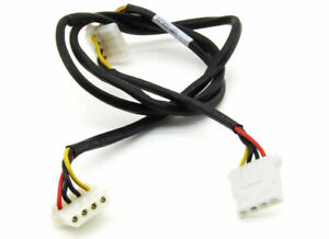 Hp-4-Pin-Molex-Straight-to-2x-Angled-Internal-Med-Power-Cable-441455-001-CAB-3