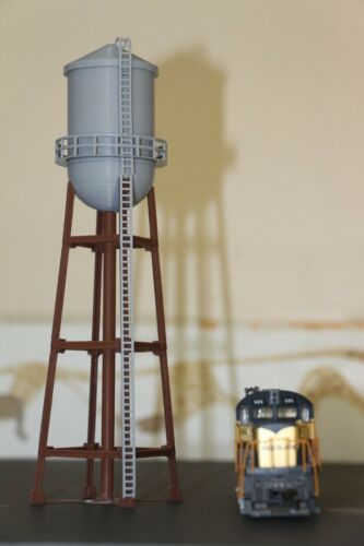 3D printed HO Scale Water Tower