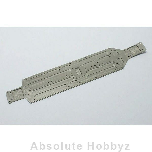 Kyosho Aluminum Hard Main Chassis   A7075T6/ZX6  - KYOLA350
