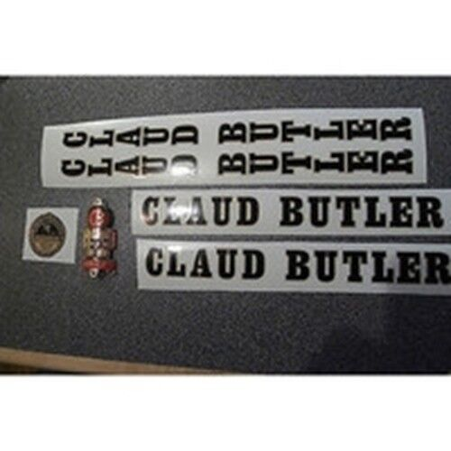 CLAUD BUTLER decal set AND METAL BADGE