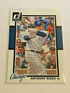2014-Panini-Donruss-Baseball-Base-Card-Anthony-Rizzo-Chicago-Cubs