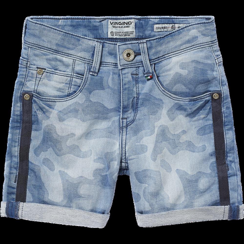 AgréAble Vingino Jeans Short Jogg Denim Colindo Cruziale Blue Neuf S2019 Taille 122/7 Y Pour Classer En Premier Parmi Les Produits Similaires