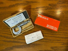 New Mitutoyo Toolmaker Machinist 0 1 001 Grad Micrometer 202 101e