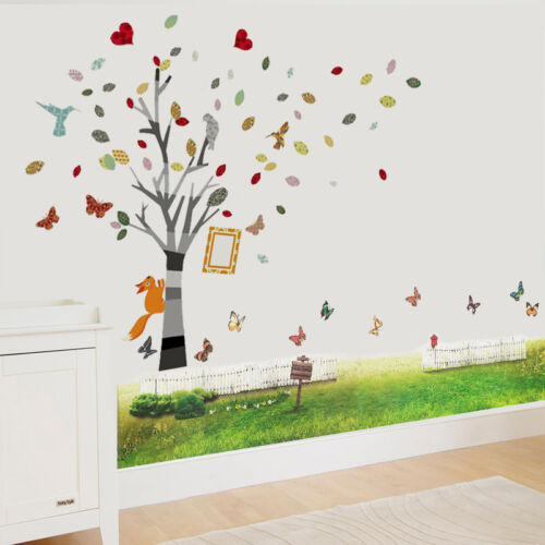 Wall Stickers Mural Decal Paper Art Decoration Reality Grass Colour Photo Frame