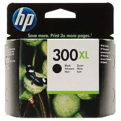 ORIGINAL HP 300XL BLACK BRAND NEW INK CARTRIDGE (CC641EE-NP)DeskJet F4280  D2560