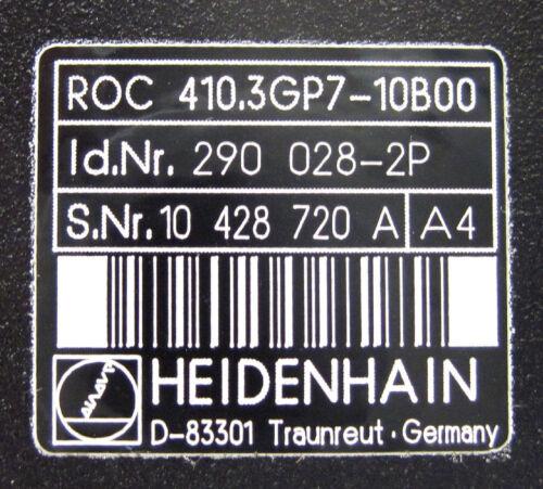 290-028-2P HEIDENHAIN ROTARY ENCODER ROC 410.3GP7-10B00 ; Id Nr