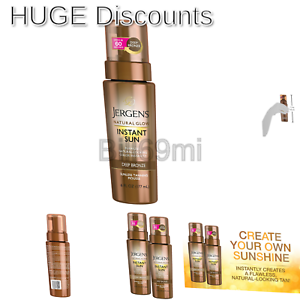 0b46f85adcc67 Image is loading Jergens-Natural-Glow-Instant-Sun-Sunless-Tanning-Mousse-
