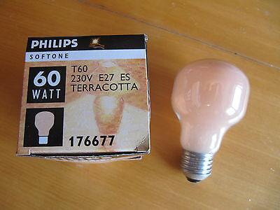 Rare lampadina lampada decorativa terracotta t philips e es