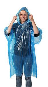 Regen Poncho Mit Kapuze Für Notfall Karneval Urlaub Camping Event Regenjacke SchöN In Farbe Sport Regenbekleidung