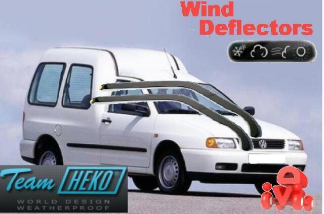 Viento desviadores de VW Polo Classic/Variant/Caddy 4d 02/1996 - on 2.pc Heko 28205