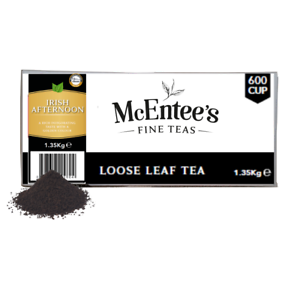 McEntee's Irish AFTERNOON BLEND Tea - CATERING 1.35Kg - 600 Cup BY DSDELTA