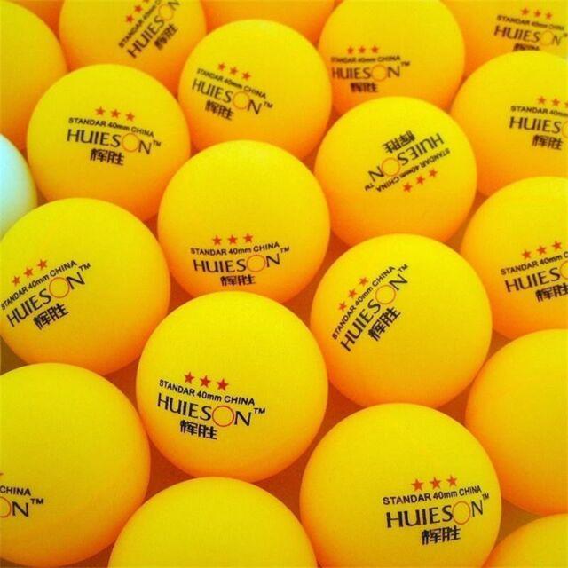 30Pcs 3-Star 40mm Table Tennis Balls Ping Pong Balls Amateur Advanced B6E1