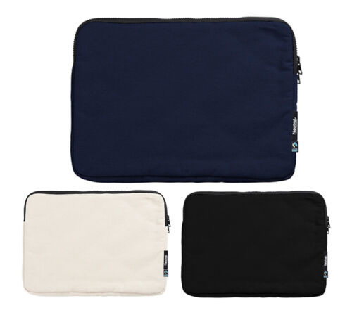 Laptoptasche aus Bio Baumwolle 13 Zoll Schweres Textilgewerbe