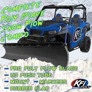 new kfi 66 pro poly snow plow mount 2016 2017 cf moto. Black Bedroom Furniture Sets. Home Design Ideas